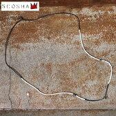 Made in USA【SCOSHA】スコーシャ#MN100 COAST NECKLACE コーストネックレスDENIM(デニム)