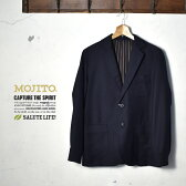 ★40%OFF♪SALE特価!【MOJITO】モヒートRITZ JACKET(リッツジャケット)2063-2201ネイビー