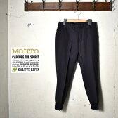 ★40%OFF♪SALE特価!【MOJITO】モヒートSPARRING PANTS Bar.4.0(スパーリングパンツ)20531403リブパンツネイビー