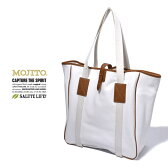 Made in JAPAN【MOJITO】モヒートBIG GAME TOTE BAG(ビッグゲームトートバッグ)ホワイト