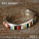 ナバホ族【RAY ADAKAI】レイアダカイInlay BraceletインレイブレスレットサイズL z5x