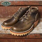 Made in USA【NICKS BOOTS】ニックスブーツHNW Last 4inch OXFORD 4インチ オックスフォードクロームエクセルレザー オリーブ