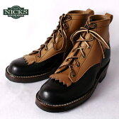 ★20%OFF♪クリアランスSALE!Made in USA【NICKS BOOTS】ニックスブーツ5inch LACE TO TOE 5インチ レーストゥートゥ