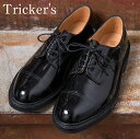 ★40%OFF♪SALE特価!正規品 Made in England【Tricker's】トリッカーズM7195 Cap Toe Country Enamel Shoes キャップトゥカントリーエナメルシューズPATENT BLACK(パテント ブラック)