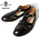 ★40%OFF♪SALE特価!【YUKETEN】ユケテンSummer Leather Sandal サマーレザーサンダルBLACK ブラック