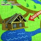 ★USAコットン★TIMELESS TREASURESキャンプ村(単位50cm)