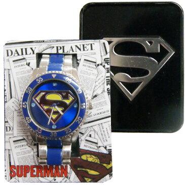 【訳あり/返品交換不可】 【アメリカ買付商品】SUPERMAN スーパーマン ダイバーズ 腕時計 リストウオッチ 大人サイズ ハロウィン