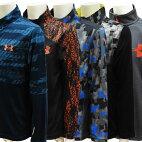 【アメリカ買付商品】UNDERARMOURアンダーアーマー子供服キッズボーイズ長袖Tシャツカットソー90cm重ね着風暖か