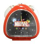 【ラッピング無料】MARVELマーベルアメコミ三角クロック目覚まし時計置時計子供部屋アナログ