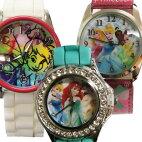 Disney(ディズニー)プリンセス・きらきら腕時計(リストウオッチ)