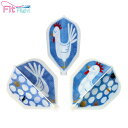 ダーツ フライト【あす楽対応】デザインフライト FitFlight AFP <にわとり卵>【Fit フライト D.Craft ディークラフト シェープ