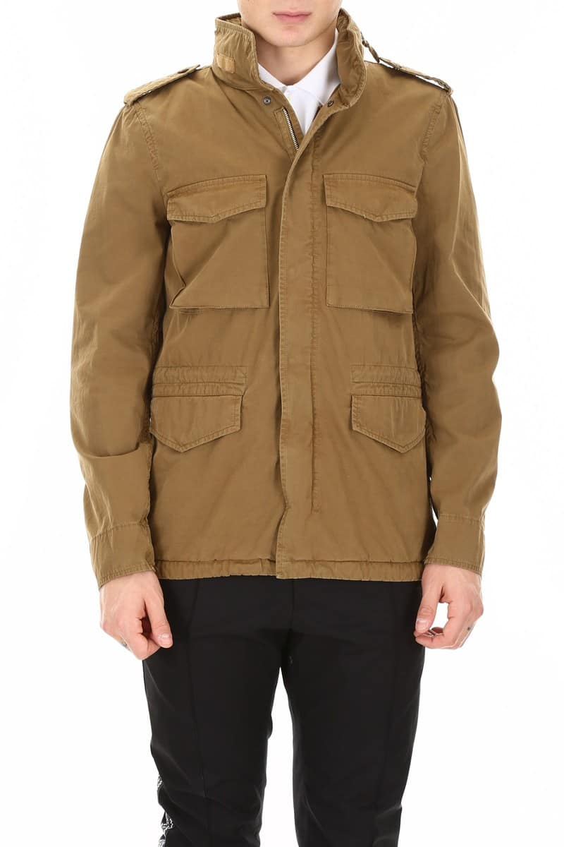 ASPESI/アスペジ サファリジャケット BISCOTTO Aspesi minifield jacket メンズ 春夏2019 CG20 A262 ik