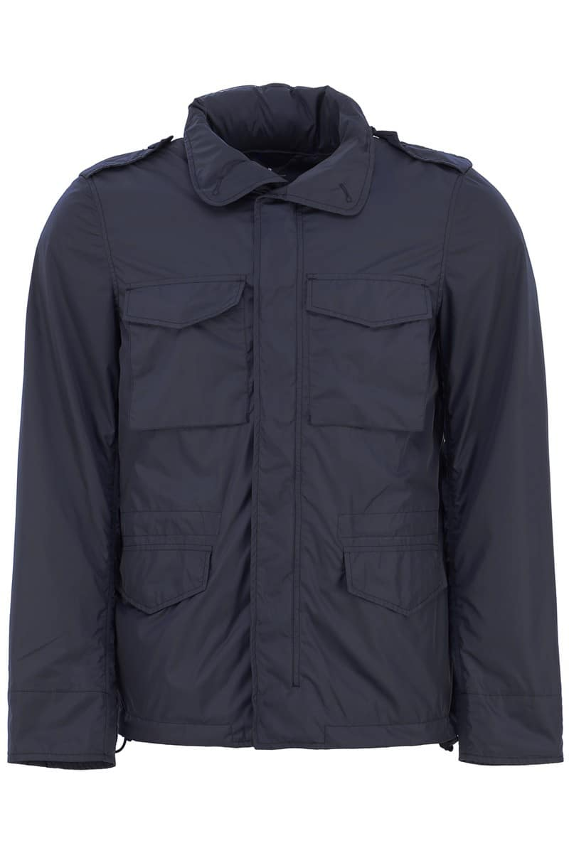 ASPESI/アスペジ ナイロンジャケット BLU NAVY Aspesi minifield vento jacket メンズ 春夏2019 I117 7954 ik