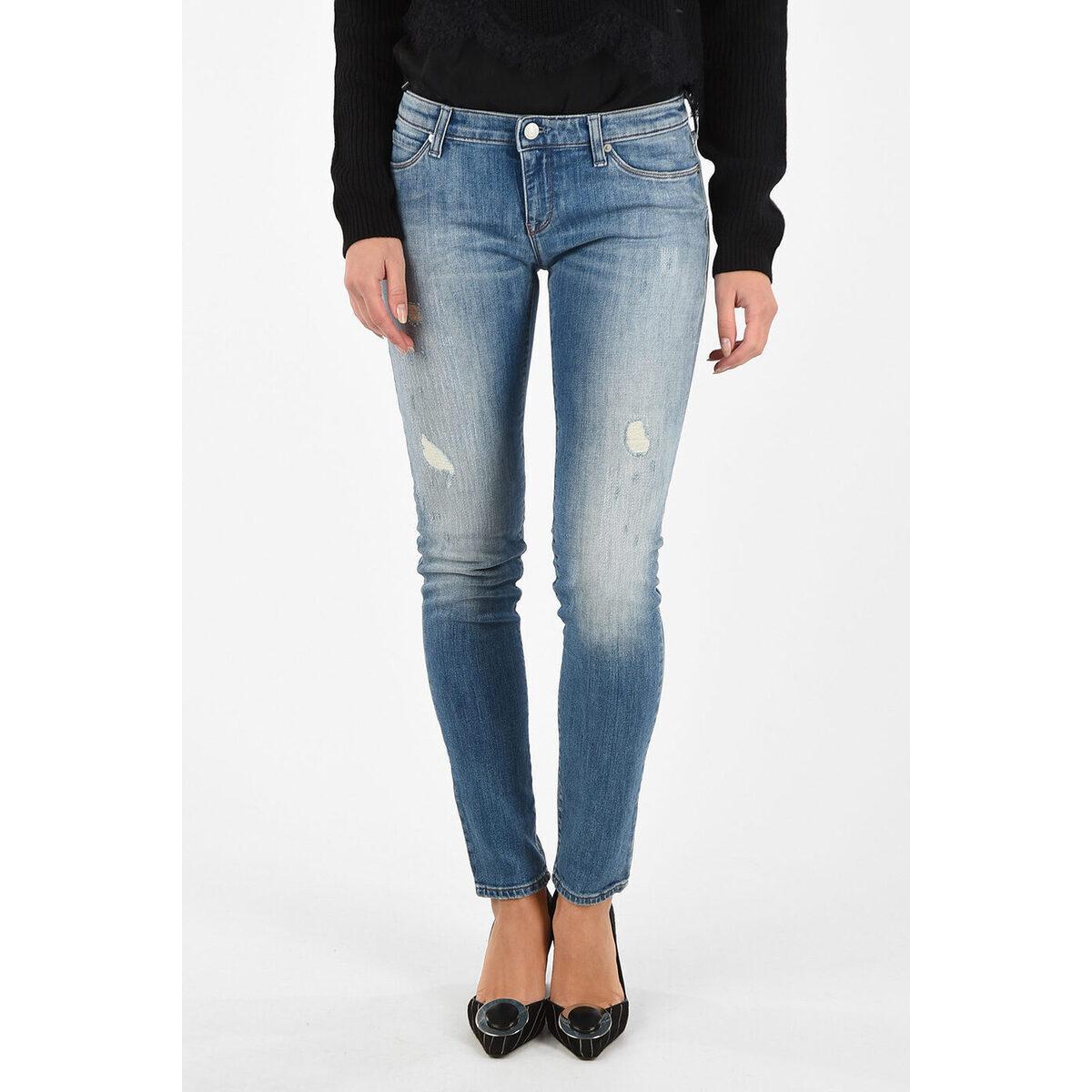 ボトムス, パンツ ARMANI JEANS Blue ARMANI JEANS Skinny Fit LOTUS Jeans dk