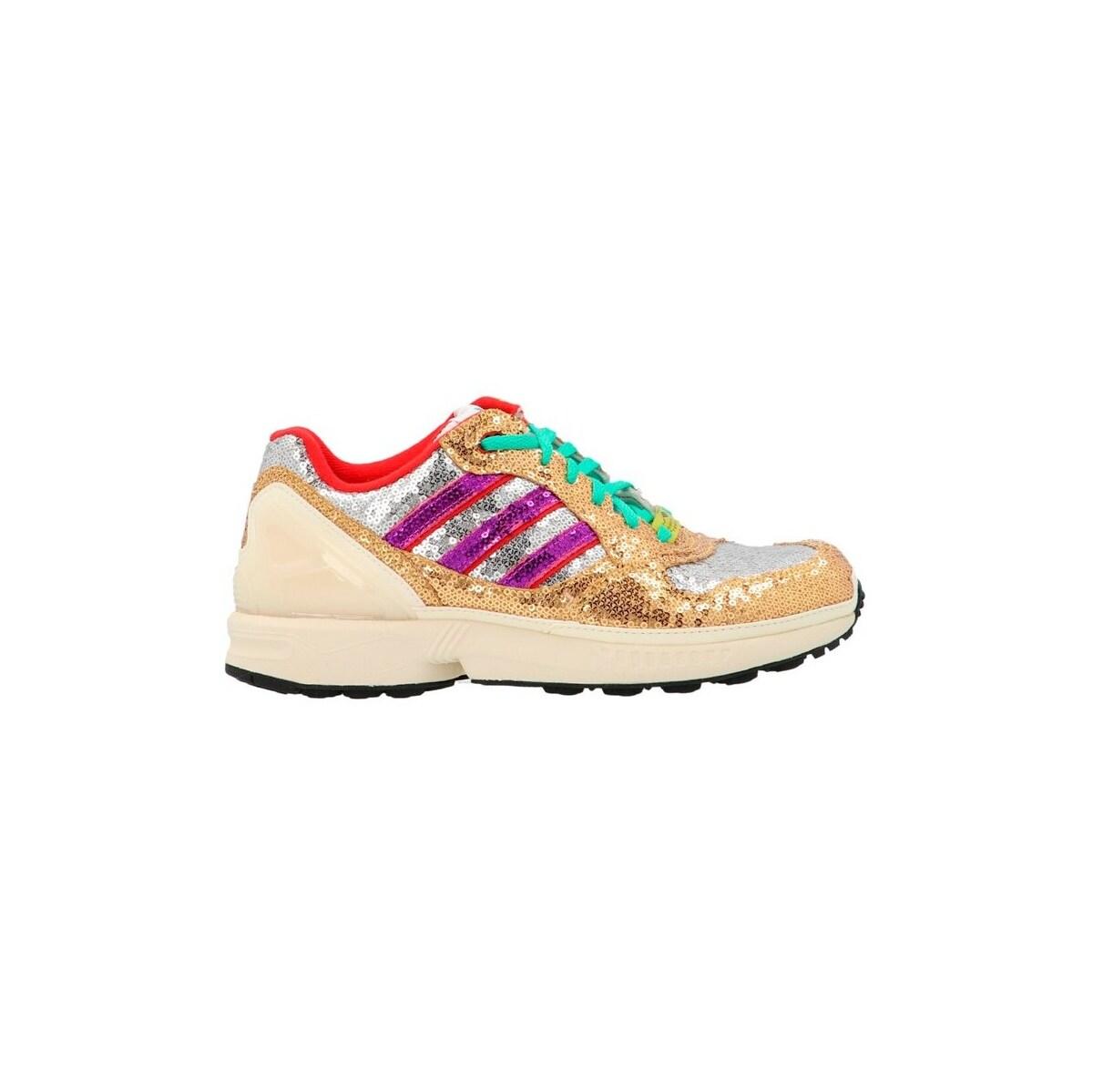 メンズ靴, スニーカー ADIDAS ORIGINALS Multicolor ZX 6000 W sneakers 2021 FY6863CRYSTALWHITESHOCKPURPL E ju