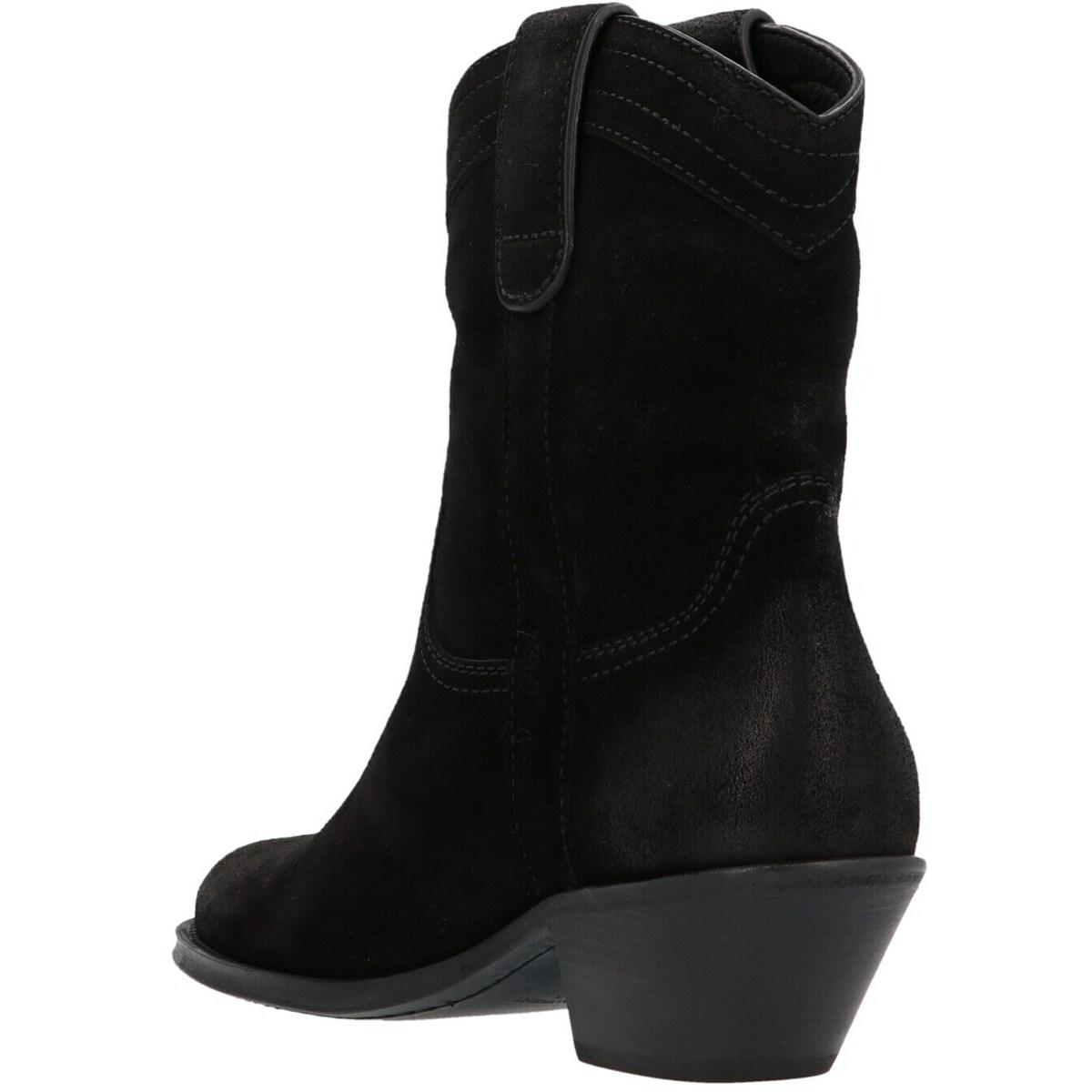 ブーツ, その他 SAINT LAURENT PARIS Black Eastwood Texan ankle boot 2021 67025525T001000 ju