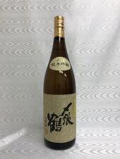 〆張鶴純米吟醸山田錦1800ml(宮尾酒造)(新潟県)