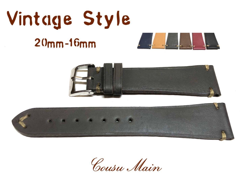 腕時計用アクセサリー, 腕時計用ベルト・バンド CousuMain20mm-16mm Z07Z08Z09Z10Z11Z12
