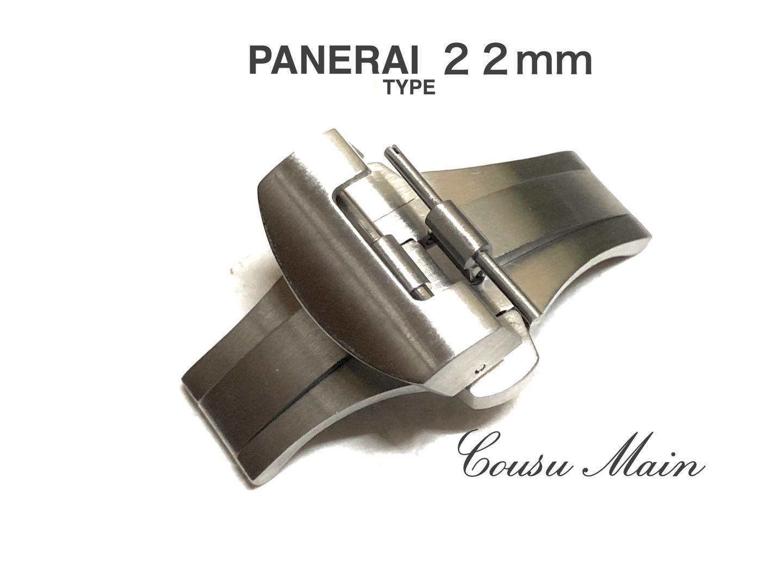 腕時計用アクセサリー, 尾錠・バネ棒 CousuMainPANERAI26mm24mm 22mmD