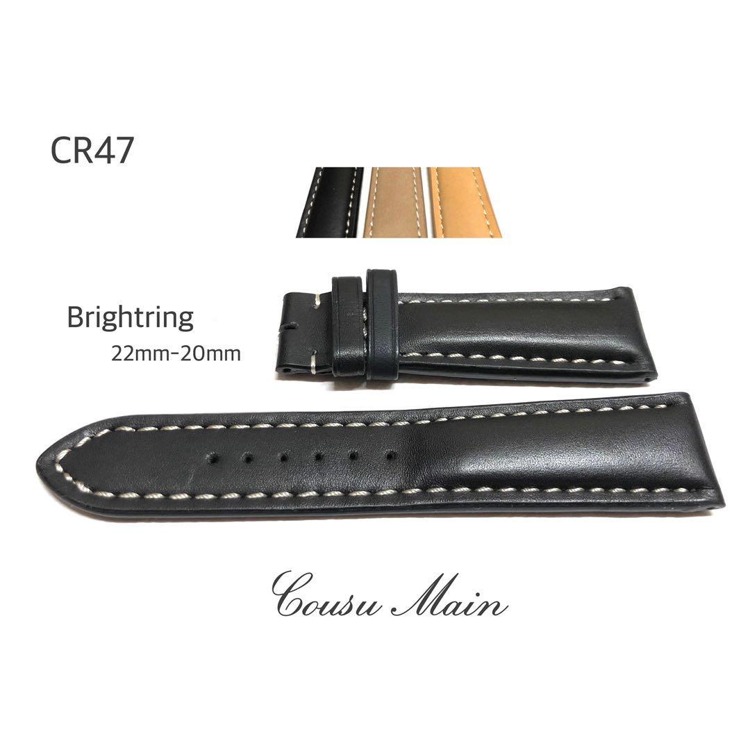 腕時計用アクセサリー, 腕時計用ベルト・バンド CousuMain22mm-20mm BREITLING CR47CR48CR49