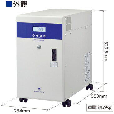 太陽光発電や停電時に!リチウムイオン蓄電システム POWER DEPOII PDS-1000S01 楽天初出展 送料無料