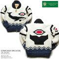 カウチンセーター(カウチンジャケット)|CanadianSweaterCompany(カナディアン・セーター・カンパニー)・カナダ製|CSC-1012wxWHALE(ホエール)|オフホワイト|メンズ|ウール100%(ヘリテージヤーン)|フルオープン|ジップアップ|長袖