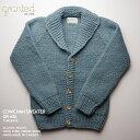 カウチンセーター(カウチンジャケット)|granted(グランテッド)・カナダ製|GR-68c Classic Shawl (Reverse Knit) クラシック・シ…