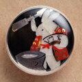 薩摩ボタン|Satsuma Buttons(20mm)|SBM-052 餅つき兎(黒)|アロハタワー(アロハシャツ販売)