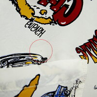 【アウトレット】アロハシャツ|ショット(SCHOTT)SCH3175021|CUBADREAM(キューバドリーム)|VonFranco(ヴォン・フランコ)|ホワイト|メンズ|レーヨン100%|開襟|フルオープン|半袖|【Lサイズ】アロハタワー(アロハシャツ販売)