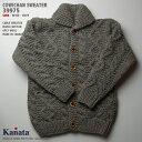 カウチンセーター(カウチンジャケット)|KANATA社(カナタ)・カナダ製|KA39975 CABLE SWEATER(ケーブル・セーター)|サンド|ウ…