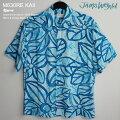 アロハシャツ|ジェムス・ワールド(JAMSWORLD)|M630RE-KAII|KAIWI(カイウイ)|レーヨン100%(100%rayon)|ノーマル襟(レギュラーカラー)|フルオープン|半袖|AlohaShirt