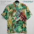 アロハシャツ|ジェムス・ワールド(JAMSWORLD)|M630RE-NAPA|NAPALI(ナパリ)|レーヨン100%(100%rayon)|ノーマル襟(レギュラーカラー)|フルオープン|半袖|AlohaShirt