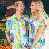 アロハシャツ|ジャムズワールド(JAMSWORLD)|M630RE-ALFR|ALFRESCO(アルフレスコ)|メンズ|ハワイ製|レーヨン100%(100%rayon)|ノーマル襟(レギュラーカラー)|フルオープン|半袖|アロハタワー(アロハシャツ販売)