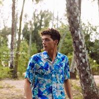 アロハシャツ|ジャムズワールド(JAMSWORLD)|M630RE-SKAL|SKYPETAL(スカイペタル)|メンズ|ハワイ製|レーヨン100%(100%rayon)|ノーマル襟(レギュラーカラー)|フルオープン|半袖|アロハタワー(アロハシャツ販売)