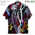 アロハシャツ|ジャムズワールド(JAMSWORLD)|M630RE-ILLU|ILLUSION(イリュージョン)|メンズ|ハワイ製|レーヨン100%(100%rayon)|ノーマル襟(レギュラーカラー)|フルオープン|半袖|アロハタワー(アロハシャツ販売)