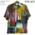 アロハシャツ|ジャムズワールド(JAMSWORLD)|M630RE-NETW|NETWORK(ネットワーク)|メンズ|ハワイ製|レーヨン100%(100%rayon)|ノーマル襟(レギュラーカラー)|フルオープン|半袖|アロハタワー(アロハシャツ販売)