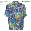アロハシャツ|ジャムズワールド(JAMSWORLD)|M630RE-HIBI|HIBIKI(ヒビキ)|メンズ|ハワイ製|レーヨン100%(100%rayon)|ノーマル襟(レギュラーカラー)|フルオープン|半袖|アロハタワー(アロハシャツ販売)