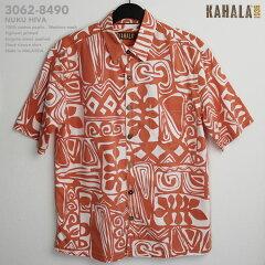 アロハシャツ|カハラ(KAHALA)|kah-8490 NUKU HIVA(ヌク・ヒヴァ)|オ…