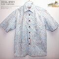 アロハシャツ|カハラ(KAHALA)|kh-8901SURFCARVING(サーフカービング)|シェル|メンズ|コットン・ブロードクロス100%(CottonBroadcloth100%)|ノーマル襟(レギュラーカラー)|フルオープン|半袖|アロハタワー(アロハシャツ販売)