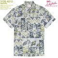 アロハシャツ|カハラ(KAHALA)|KH-KE12WAUKE(ワウケ)|1940'sヴィンテージプリント|グレイ|メンズ|コットン・ブロードクロス100%|ノーマル襟|スタンダードフィット(やや細めのスタイル)|フルオープン|半袖|アロハタワー(アロハシャツ販売)