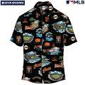 アロハシャツ|レインスプーナー(REYNSPOONER)|B2809-121-19|MLB2020メジャーリーグ公式(MLBSCENIC)|メジャーリーグベースボールサンフランシスコジャイアンツ(SANFRANCISCOGIANTS)|コットン100%|ノーマル襟|半袖|アロハタワー(アロハシャツ販売)