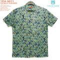アロハシャツ|トリリチャード(TORIRICHARD)|tori-56-ME11TOTALLYFLOCKED(トータリーフロックド)|ネイビー|メンズ|コットン・ローン100%|ノーマル襟|オレンジレーベル:スリムフィット|フルオープン|半袖|アロハタワー(アロハシャツ販売)