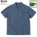 アロハシャツ|ステュディオ・ダ・ルチザン(STUDIOD'ARTISAN)|豚アロハSD-5640-Bパラカオープンシャツ|コットンリネン|開襟(オープンカラー)|フルオープン|半袖|アロハタワー(アロハシャツ販売)