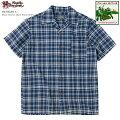 アロハシャツ|ステュディオ・ダ・ルチザン(STUDIOD'ARTISAN)|豚アロハSD-5640-Cパラカオープンシャツ|コットンリネン|開襟(オープンカラー)|フルオープン|半袖|アロハタワー(アロハシャツ販売)