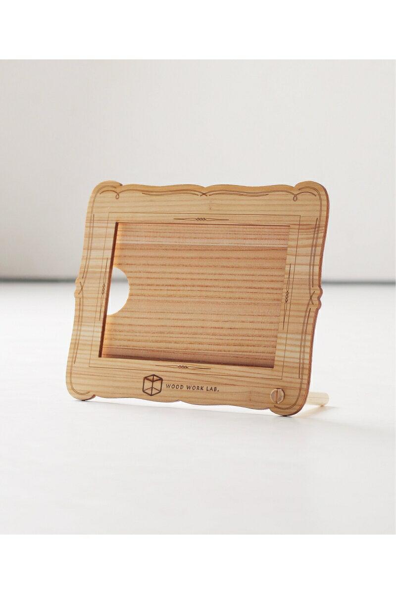 WOOD WORK LAB.木製フォトフレーム(杉)