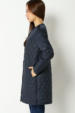 【マザー】ママポカ ケープ付きキルティングインナーコート