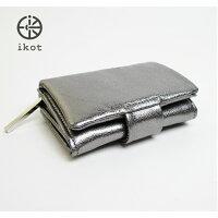 ikotイコットレディース財布折財布IK317002SILVER