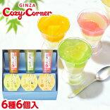銀座涼風双菓(6種6個入)フルーツゼリー洋菓子スイーツプレゼントギフト