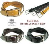 (ホワイトハウスコックス) Whitehouse Cox #B-8665 BridleLeather Belt(ブライドルレザーベルト/牛革/Dress Belt/幅28mm/英国製/真鍮製バックル/男女兼用/ビジネス/カジュアル/本革/ギフト/ブラウン/ブラック/取り寄せ可/送料無料)