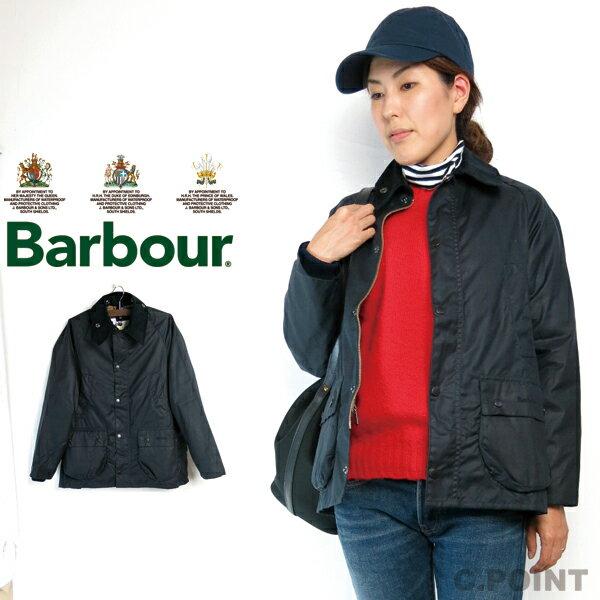 (バブアー) Barbour #Classic Bedale クラシックビデイル レディース オイルドジャケット イギリスキッズモデル L XLネイビー トラッド ハーフコート イングランド製 ビデール (送料無料/バーブァー/ロイヤルワラント/英国王室御用達/NY92/NAVY/CWX0019)